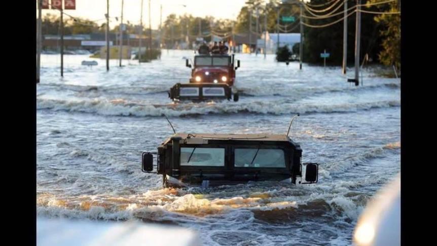Alivio para el Huracán Matthew