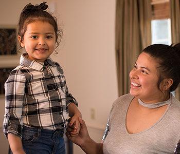 Crisli L. and daughter